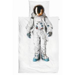 Snurk Dekbedovertrek Astronaut Flanel 140 x 200