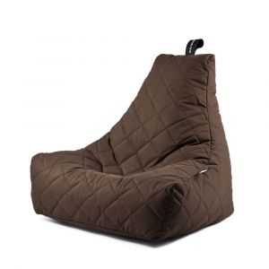Extreme Lounging B-Bag Mighty-B Quilted Brown