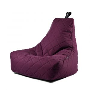 Extreme Lounging B-Bag Mighty-B Quilted Berry
