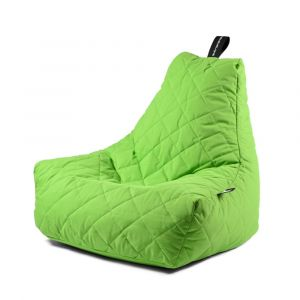 Extreme Lounging B-Bag Mighty-B Quilted Lime