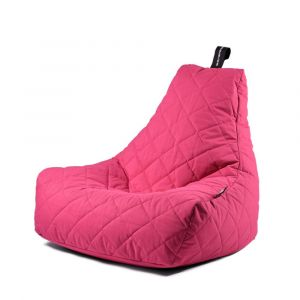 Extreme Lounging B-Bag Mighty-B Quilted Pink