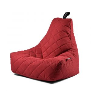 Extreme Lounging B-Bag Mighty-B Quilted Red