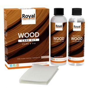 Shine & Fix Wood Care Kit + Cleaner 2 x 250 ml