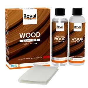 Elite Polish Wood Care Kit + Cleaner 2 x 250 ml