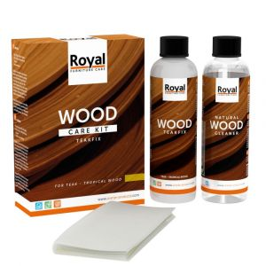 Teakfix Wood Care Kit + Cleaner 2 x 250 ml