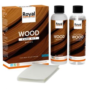 WaxOil Wood Care Kit + Cleaner 2 x 250 ml