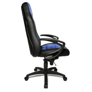 Topstar Bureaustoel Speed Blauw