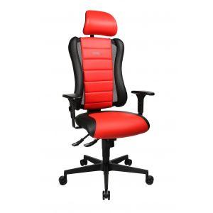 Topstar Bureaustoel Sitness Rood/Zwart