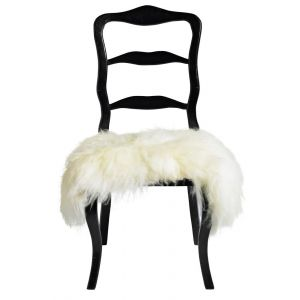 Sheep Skin Vtwonen For Seat White
