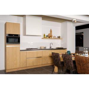 Landelijke keuken in hout fineer Unit 2-1