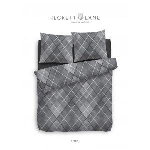Heckett & Lane DBO Crispin Grijs 140x200 Flanel