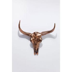 Decoratie Antler Skull Copper
