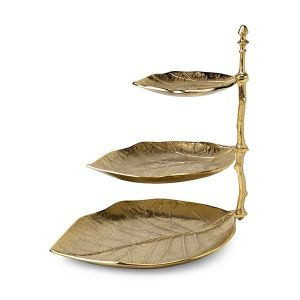 Feelings Etagere Leaf Goud