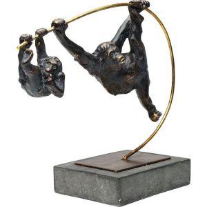 KARE Deco Object Climbing Monkeys