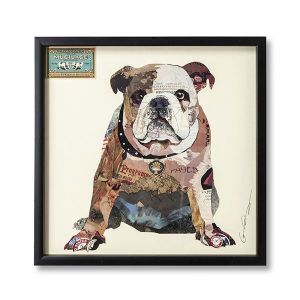 Picture Frame Art The Dog