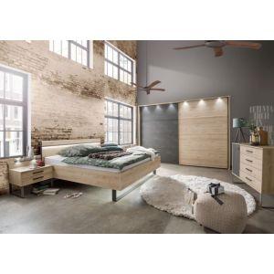 Set nachtkastjes Bjorn 40cm met opzet en verlichti