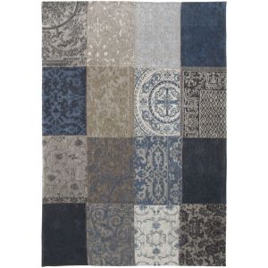 Karpet Vintage Multi blue denim 200x280