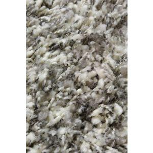 Karpet Twilight zilver/wit mix rond 200