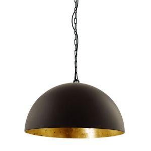 Steinhauer Hanglamp Semicirkel Zwart