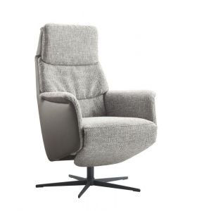 IN.HOUSE Relaxfauteuil Pomonti Zinc