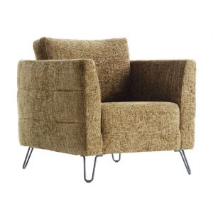 IN.HOUSE Fauteuil Dalio Brandy