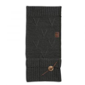 Pocket Aran Antraciet