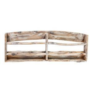 PTMD Tirta Wood natural hanging magazine rack