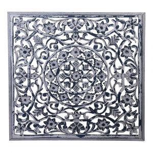 Square Panel Carf Viane White Antique M