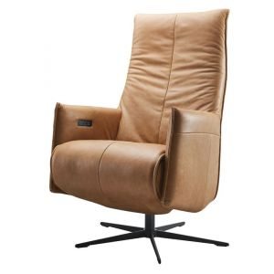 IN.HOUSE Relaxfauteuil Ranio Large Camel