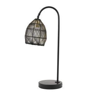 Tafellamp Marola Zwart/Goud