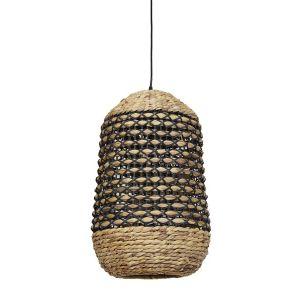 Hanglamp Capena Naturel/Zwart ¿7,5