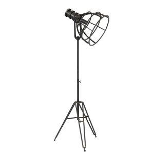 Vloerlamp Apiro Zwart