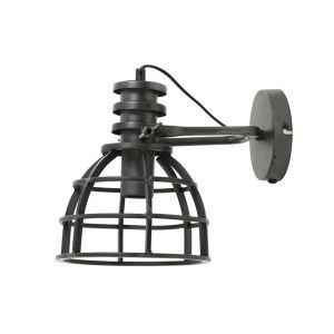 Wandlamp Apiro Zwart