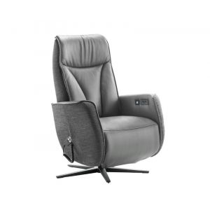 In.HOUSE Relaxfauteuil Lerira Antraciet
