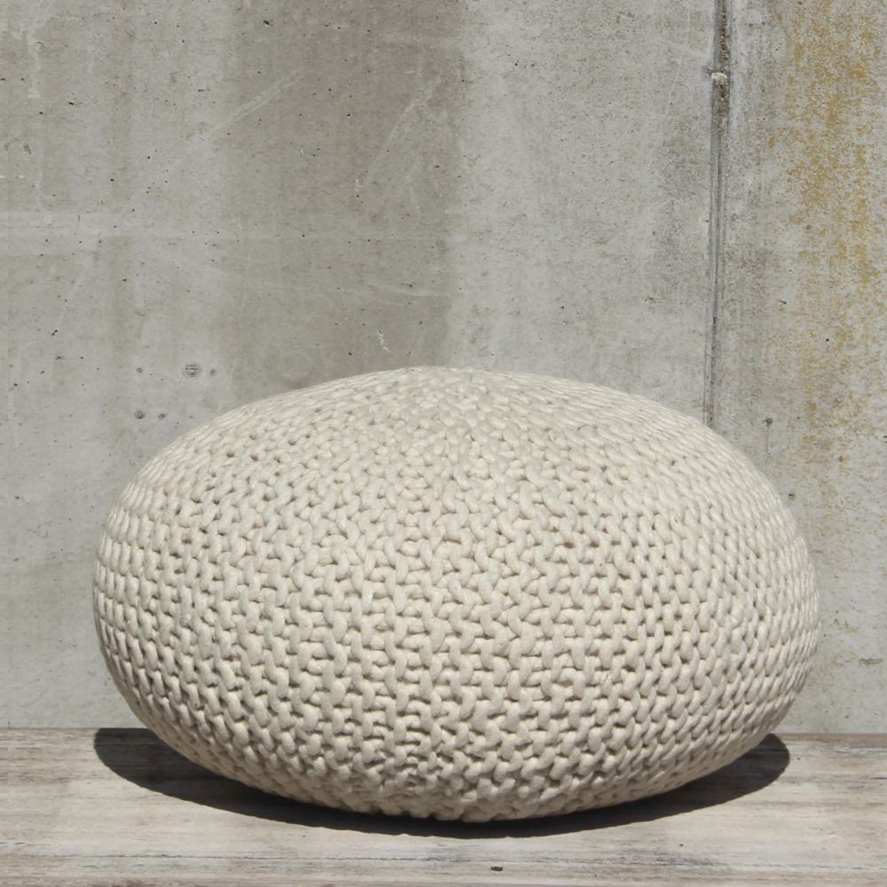 Poef By Boo Wool nature