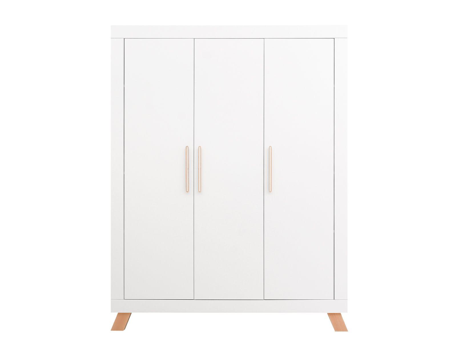 Bopita 3-deurskast Lisa Wit