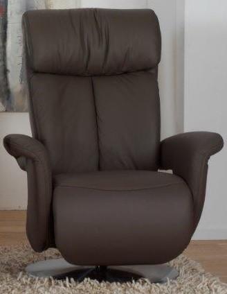 Relaxfauteuil Aach Zwart Large