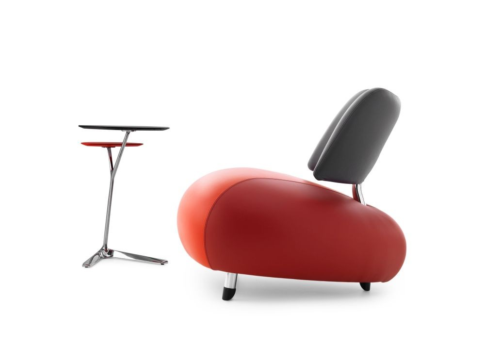 Leolux Fauteuil Pallone Paradise Red Cardinal