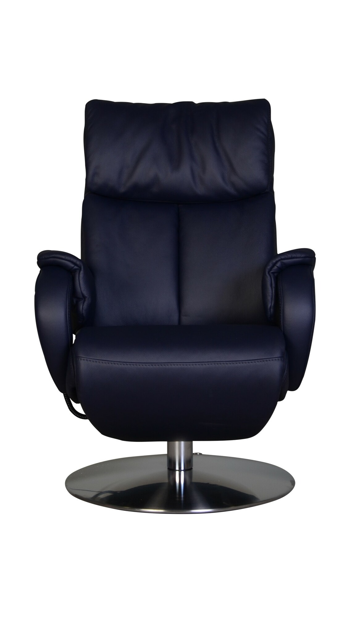 Relaxfauteuil Carmel Donkerblauw