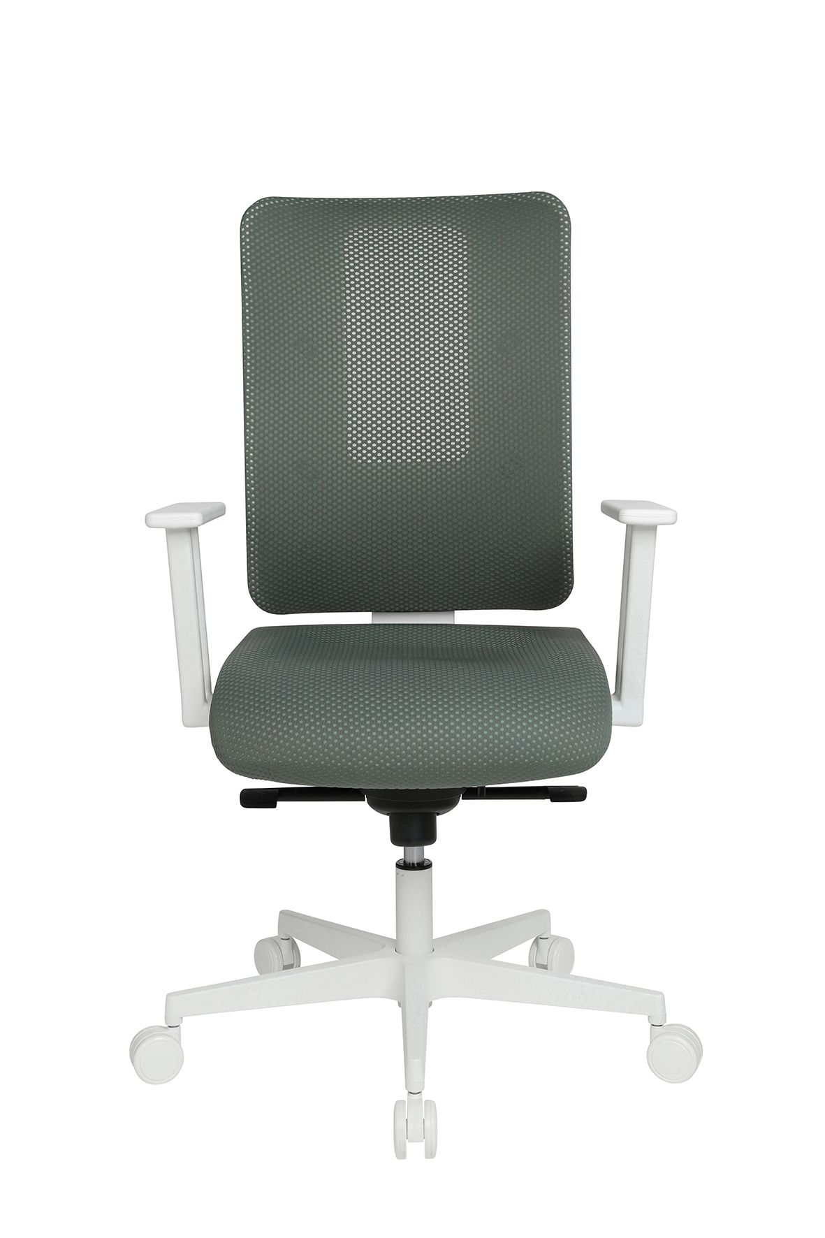 Topstar Bureaustoel Sitness Life 50 Wit/Grijsgroen