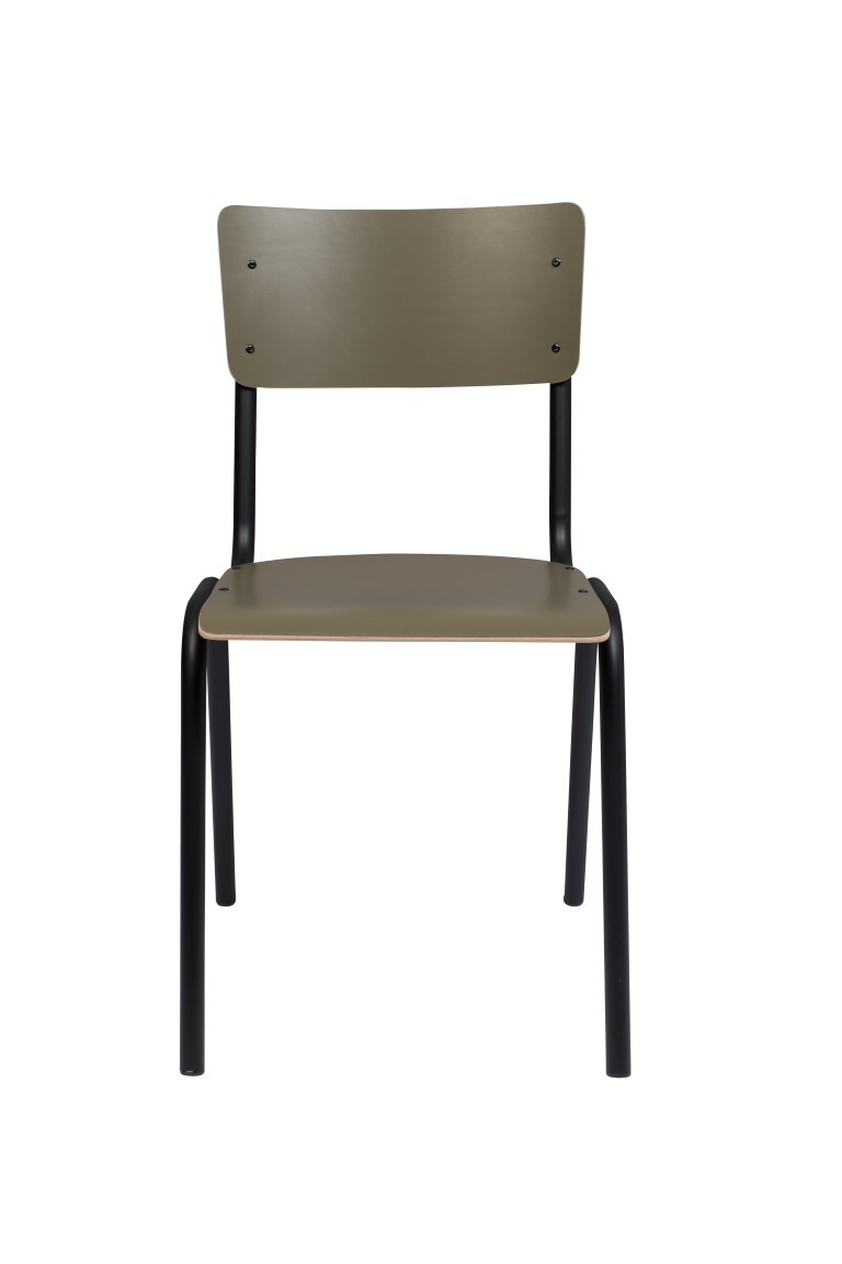 Zuiver Chair Back To School Matte Olive