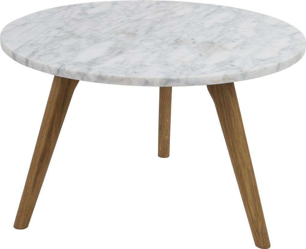Zuiver Bijzettafel White Stone L