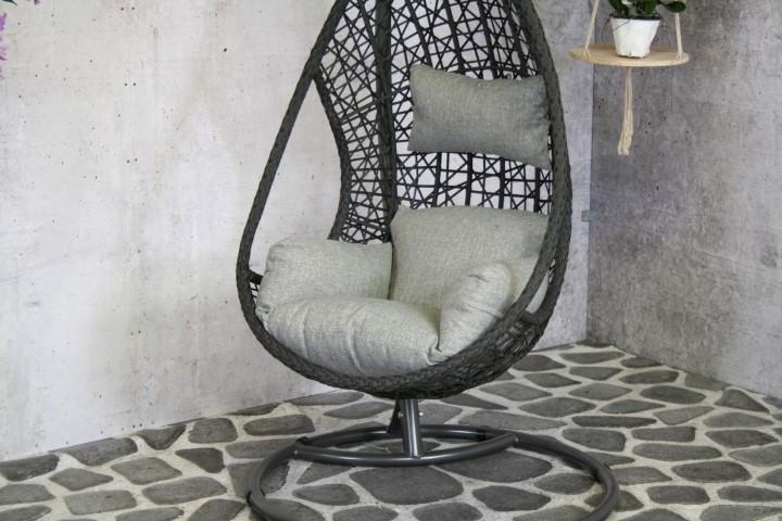Relaxstoel Mona Zwart