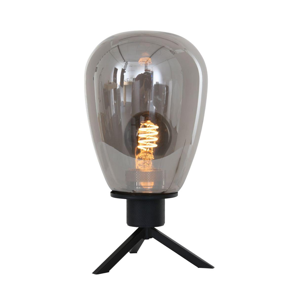 Steinhauer Tafellamp Reflexion Zwart