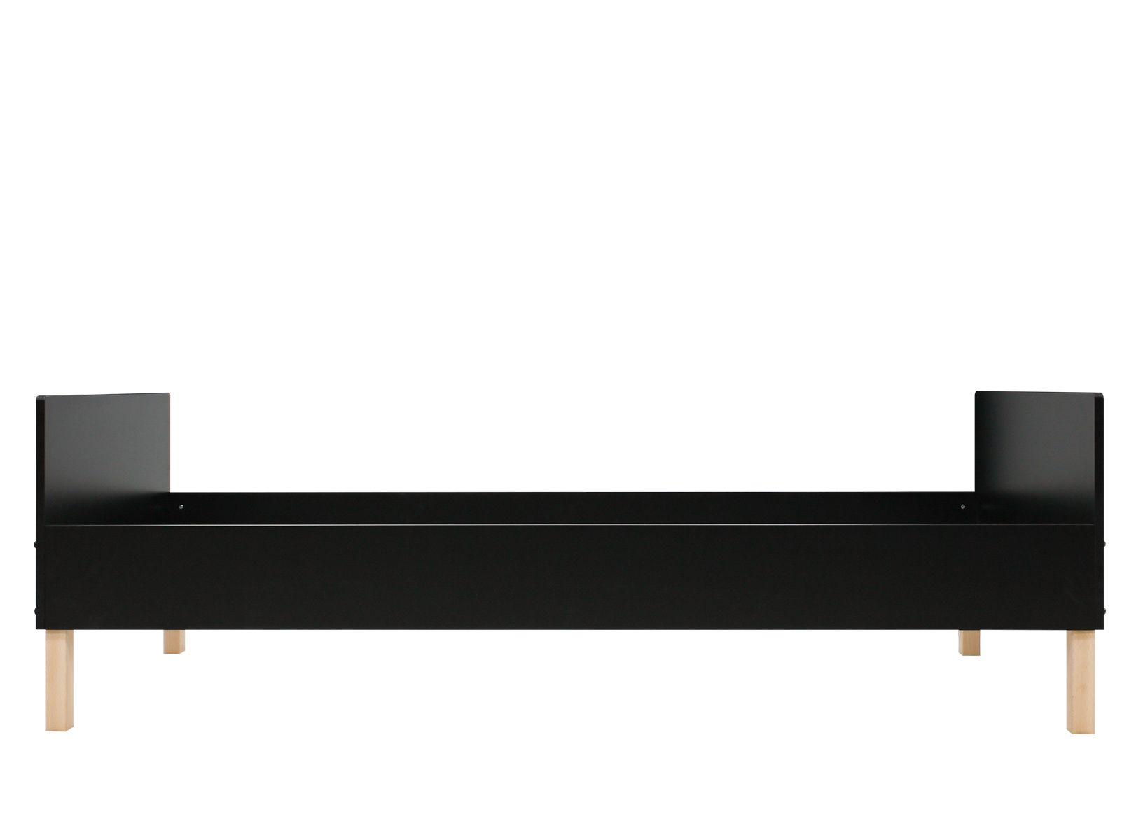 Bopita Bed Floris Black/Natural 90x200