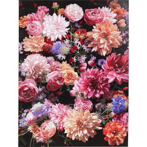 Feelings Wanddeco Touched flower bouquet