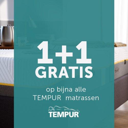 tempur 2e matras gratis